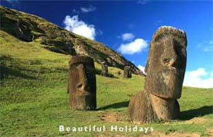 picture of easter island chile