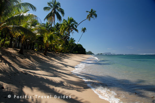 Pictures of Vavau Beach Fales Western Samoa