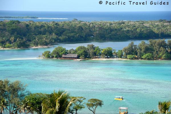 Erakor Island Vanuatu Map
