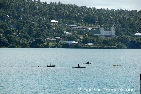 Salelologa Samoa  City new picture : Pictures of Salelologa Town & East Coast Savaii in Samoa