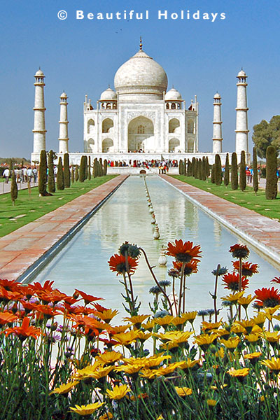 picture of taj mahal, an icon of beautiful world